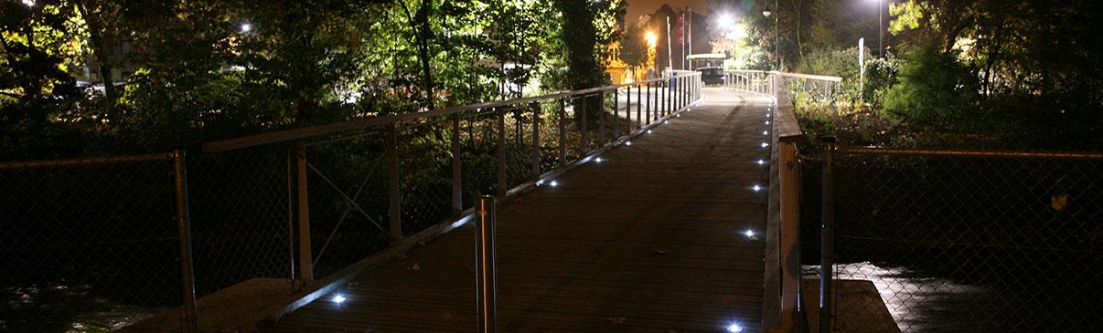 Kocie oczka drogowe LED, punktowe elementy solarne
